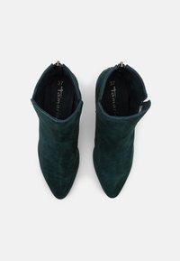 Tamaris - Ankle boots - petrol - 5