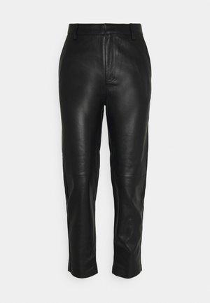 TROUSERS AMANDA - Pantalon classique - black