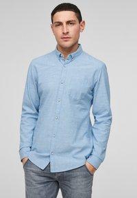 Q/S designed by - Shirt - light blue melange - 0