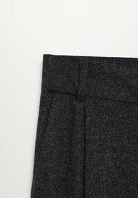 Mango - MARLEN - Trousers - gris chiné foncé - 6