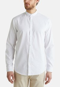 Esprit - MIT STEHKRAGEN - Shirt - white - 4