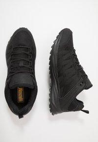 Hi-Tec - STORM TRAIL LITE - Trail running shoes - black - 1