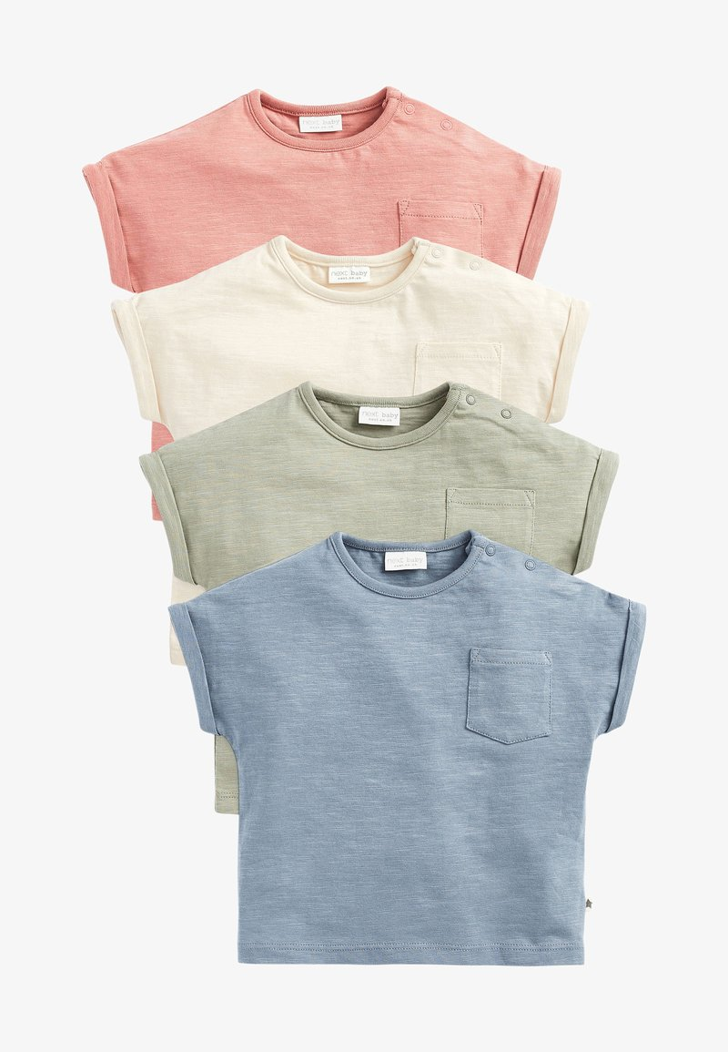 Next - 4 PACK - Print T-shirt - multi coloured
