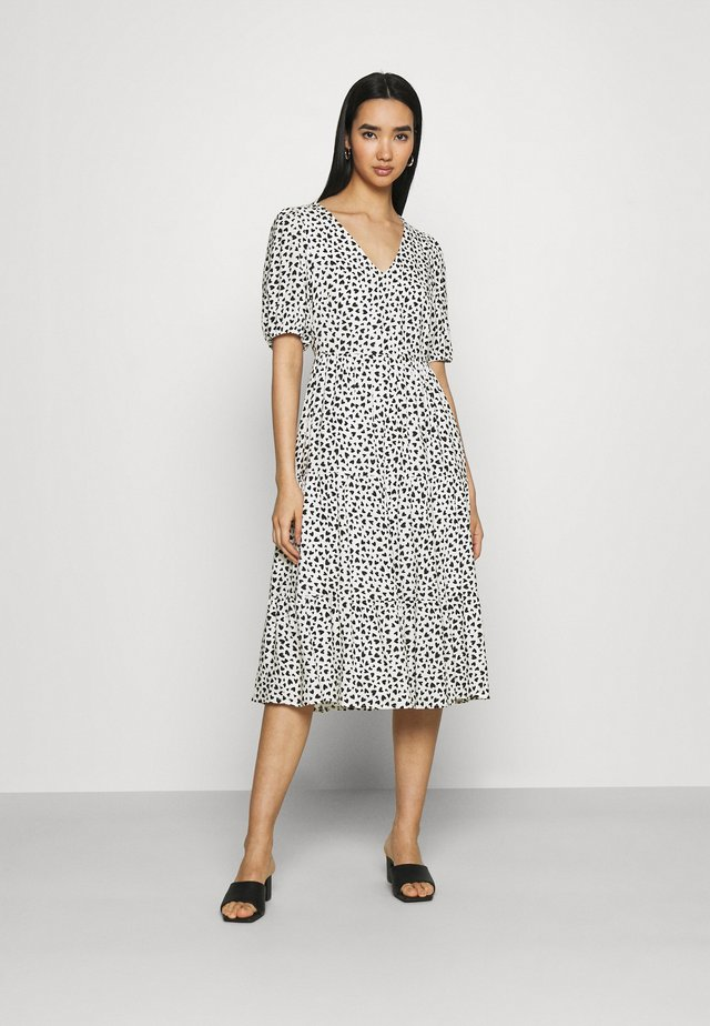 Sukienka letnia - white/black