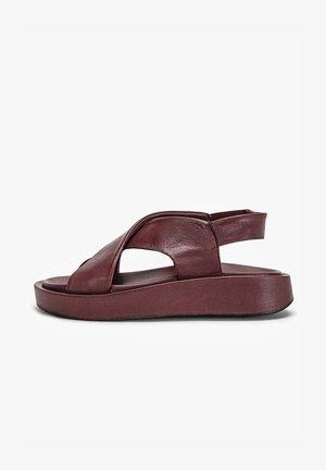 Wedge sandals - vinegar vng