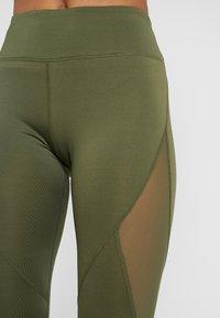 Even&Odd active - Tights - dark green/multicolor - 5