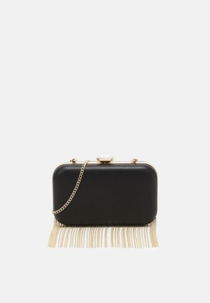 FREDERICA CHAIN FRINGE - Clutch - black