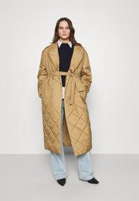 ARKET - Classic coat - beige - 1