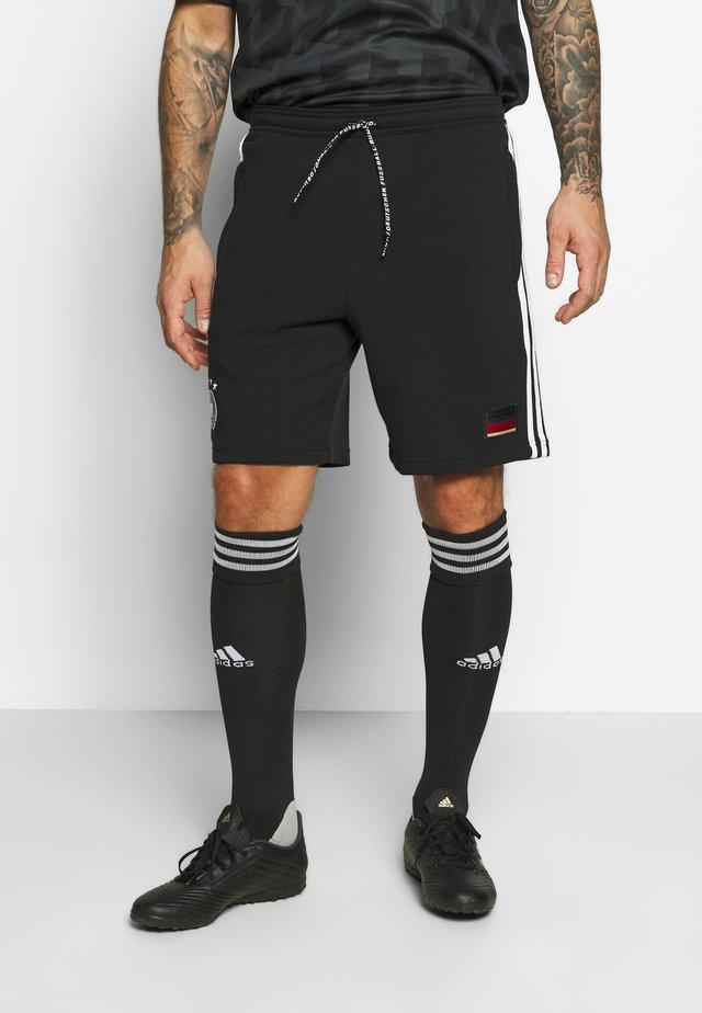 DFB DEUTSCHLAND 3S SW SHORT - Sports shorts - black