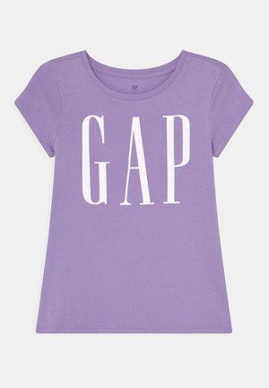 GIRLS ARCH LOGO - T-shirt z nadrukiem - lilac