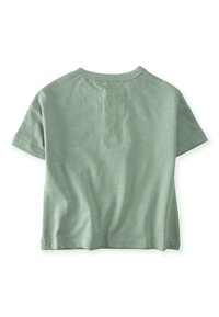 Cigit - POCKET - Print T-shirt - metallic green - 1