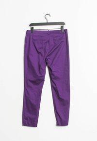 HALLHUBER - Chinos - purple - 1