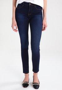 ONLY - ULTIMATE - Jeans Slim Fit - dark blue denim - 0