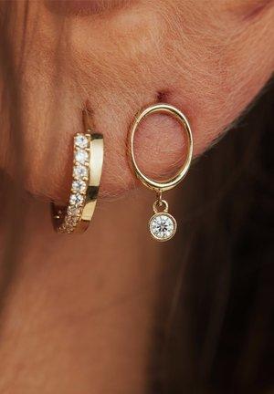 14 CARAT GOLD - Earrings - gold