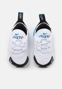 Nike Sportswear - AIR MAX 270 UNISEX - Trainers - white/signal blue/black - 3