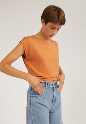 JILAA - Basic T-shirt - toasted hazel