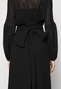 Dondup - GEORGETTE DRESS - Maxi dress - black - 7