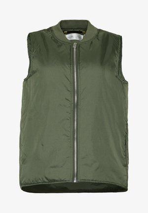 JOBY WAISTCOAT - Waistcoat - beetle green