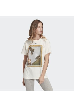 GRAPHIC T-SHIRT - T-shirt z nadrukiem - white