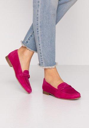 Scarpe senza lacci - cranberry