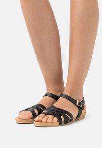 Anna Field Wide Fit - Sandals - black - 0