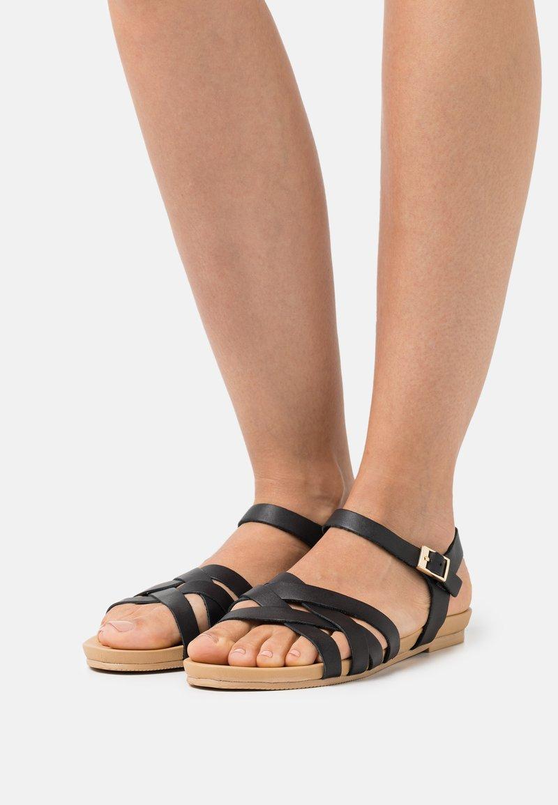 Anna Field Wide Fit - Sandals - black