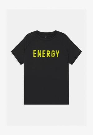 ACTIVE UNISEX - T-shirt con stampa - black