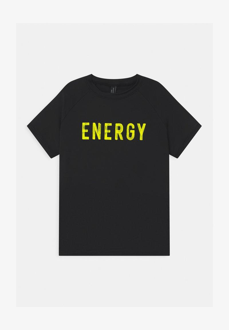 South Beach - ACTIVE UNISEX - Print T-shirt - black