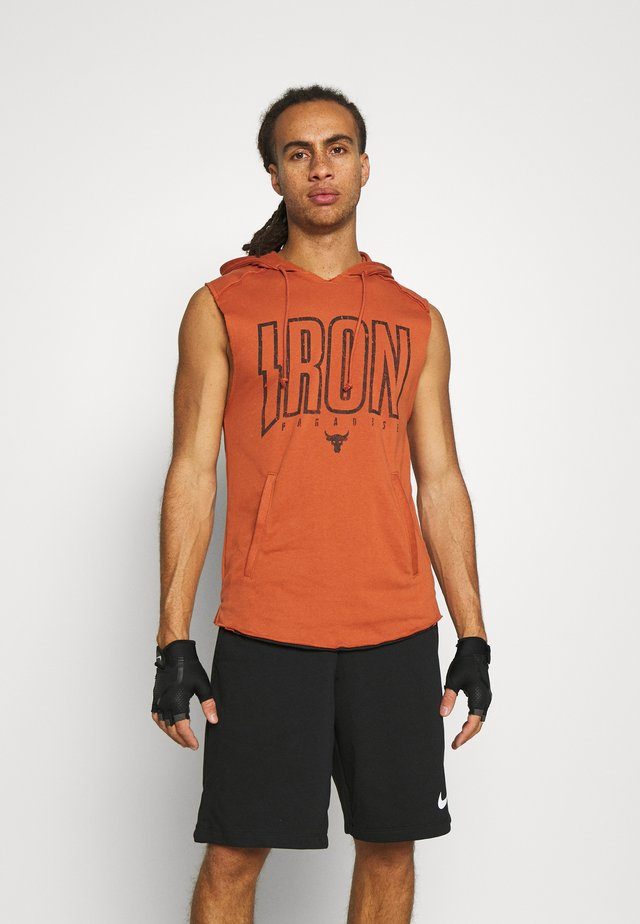ROCK IRON - Sweater - orange oxide