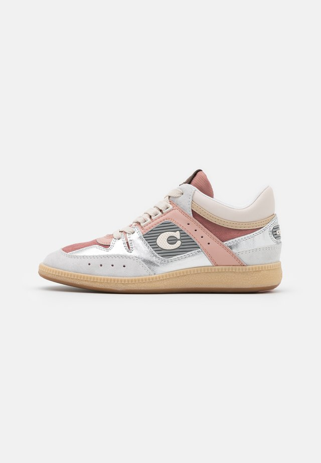 CITYSOLE METALLIC MID TOP - Baskets montantes - silver/pale blush