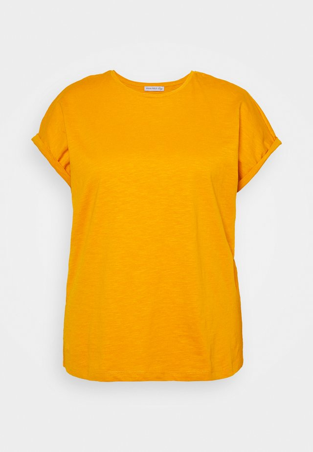 T-shirts - dark yellow