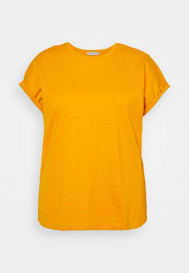 Anna Field Curvy - Basic T-shirt - dark yellow