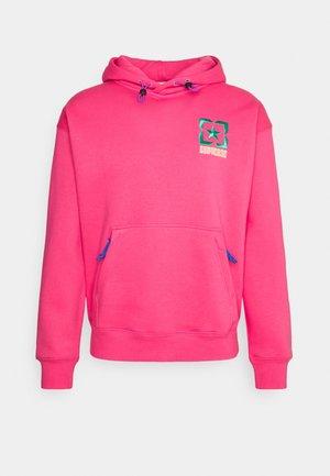 TERRAIN HOODIE - Sweatshirt - bold pink