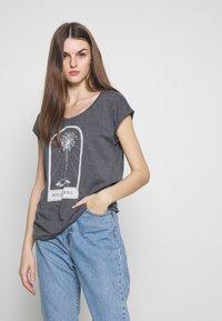 Billabong - ALL NIGHT TEE - T-Shirt print - black - 0