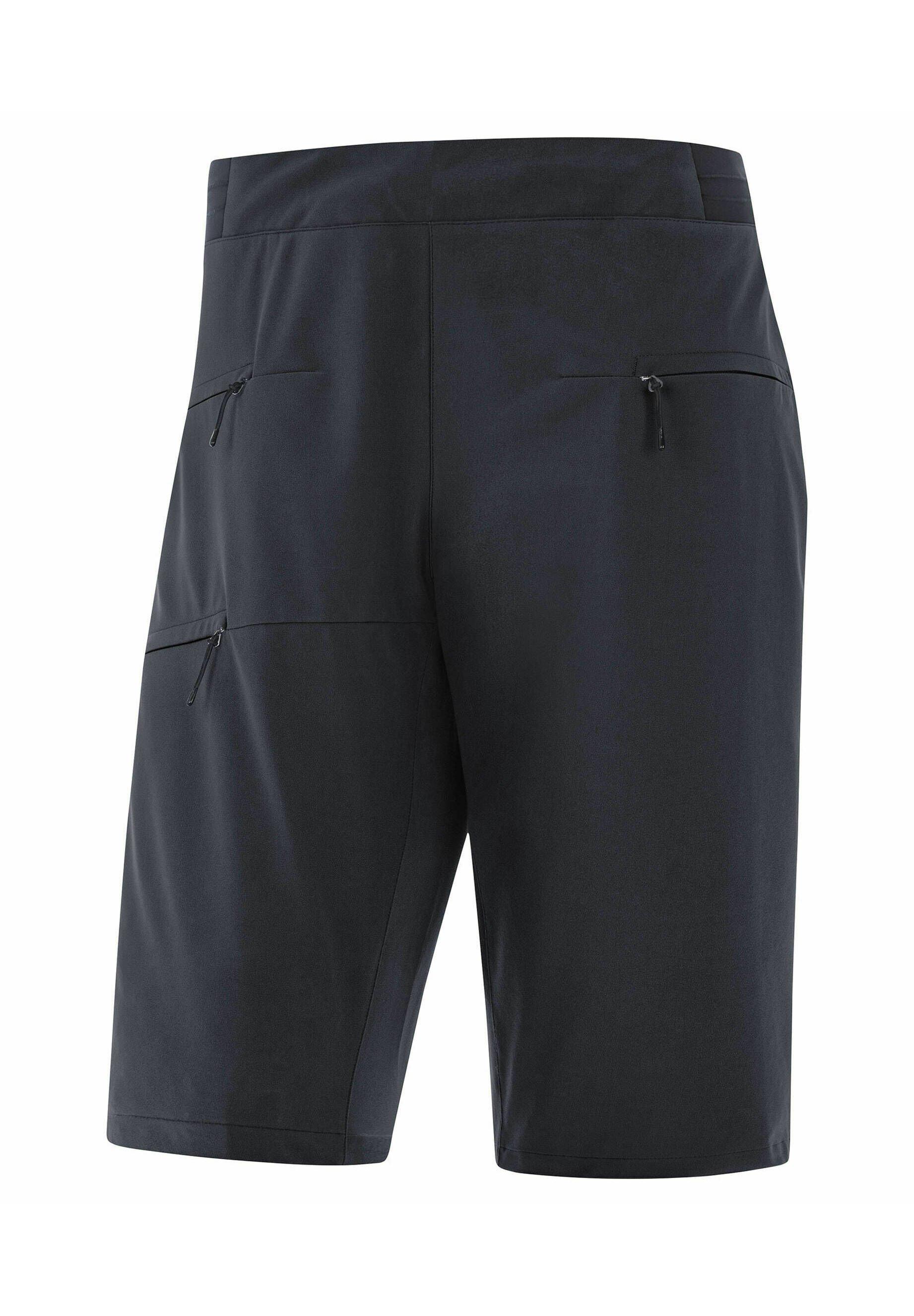 Damen kurze Sporthose - schwarz
