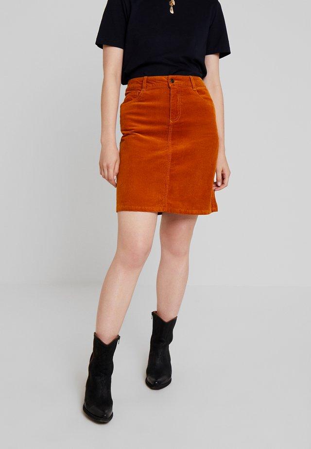 A-line skirt - pumkin spice