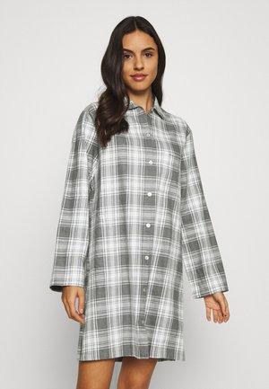 Nattskjorte - grau melange