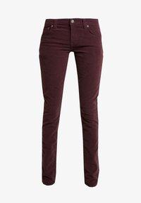 Nudie Jeans - SKINNY LIN - Kangashousut - burgundy - 5