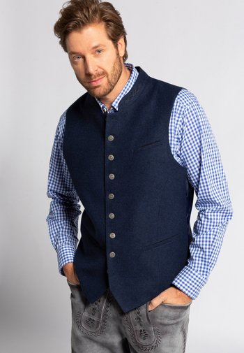 Suit waistcoat - nachtblauw