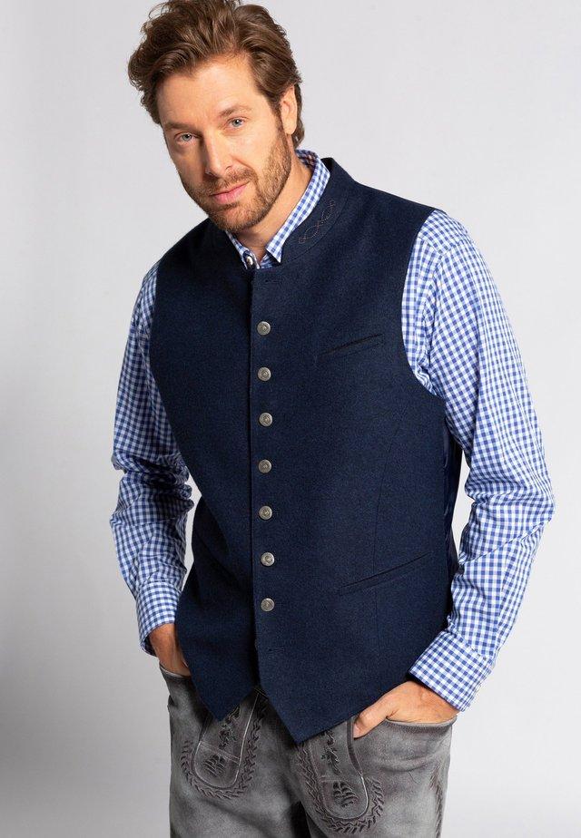 Anzugweste - nachtblauw