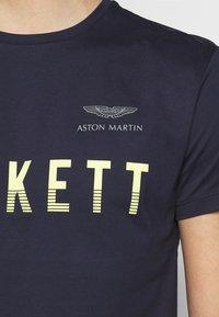 Hackett Aston Martin Racing - TEE - T-shirt print - navy - 5