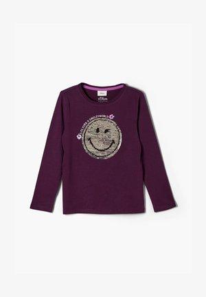 SMILEYWORLD - Long sleeved top - purple