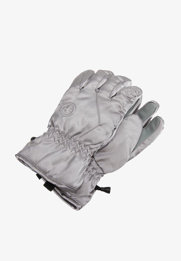Barts - BASIC SKIGLOVES - Fingerhandschuh - silver