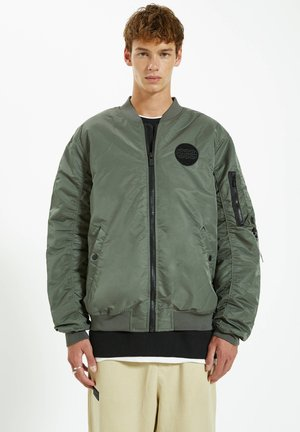 Giubbotto Bomber - dark green