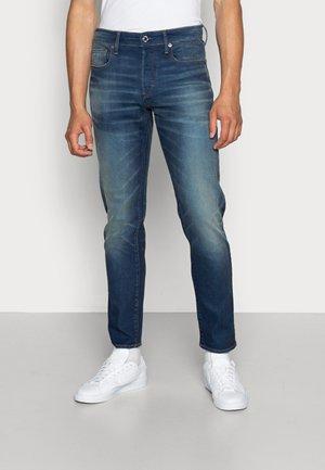 3301 SLIM - Jeans slim fit - joane stretch denim worker blue faded