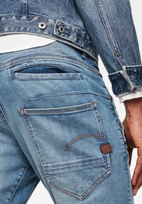 G-Star - D-STAQ 3D SLIM - Slim fit jeans - vintage striking blue - 2