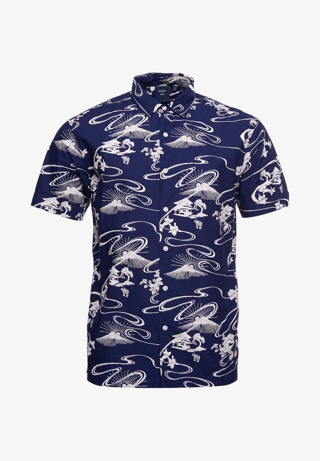 HAWAIIAN  - Overhemd - moon mountain navy