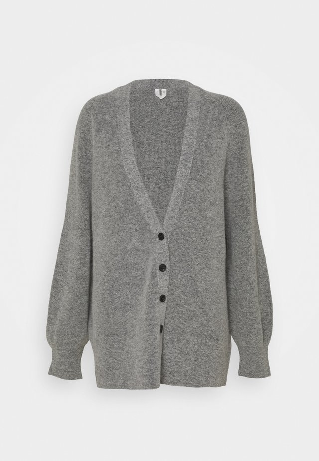 Chaqueta de punto - light grey melange