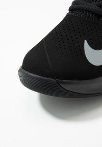 Nike Performance - AIR VERSITILE IV - Basketball shoes - black/metallic cool grey/anthracite - 5