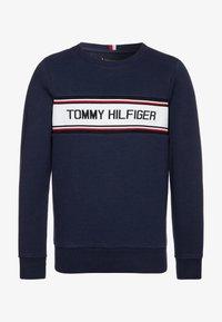 Tommy Hilfiger - INTARSIA  - Sweatshirt - blue - 0